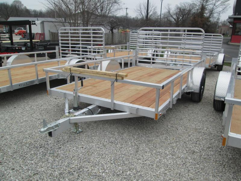 2021 7x12 Legend Open Aluminum Utility Trailer. 17633