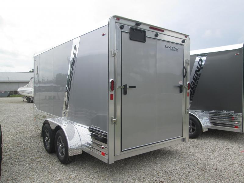 2022 7x14+V-Nose 7K Legend DVN Enclosed Cargo Trailer. 317895