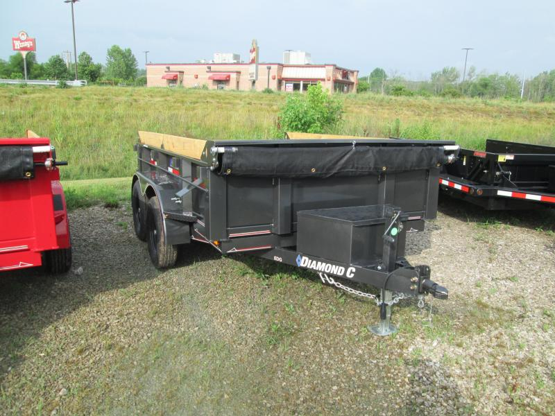 2020 10x77 7k EDG Diamond C Dump Trailer. 30355
