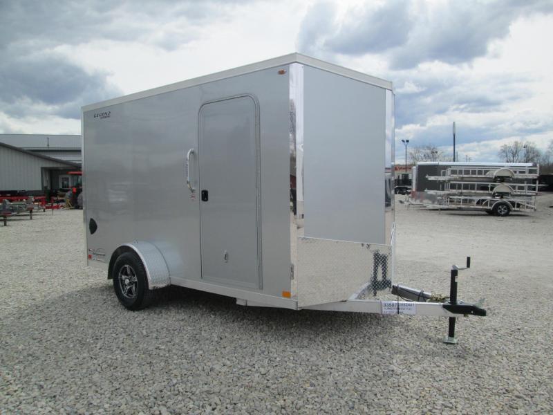 2021 6x12+V-Nose Legend Explorer Enclosed Cargo Trailer. 17135