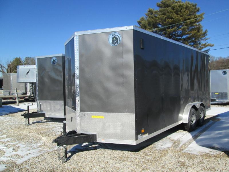 2021 7.5x18 10k Darkhorse Wedge Enclosed with ramp. 03580