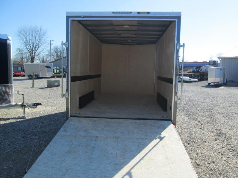 2021 7.5x14 7K Darkhorse Enclosed Cargo Trailer. 102367