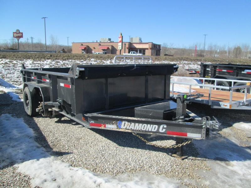 2021 12x82 14.9K Diamond C LPD207 Dump Trailer. 42572