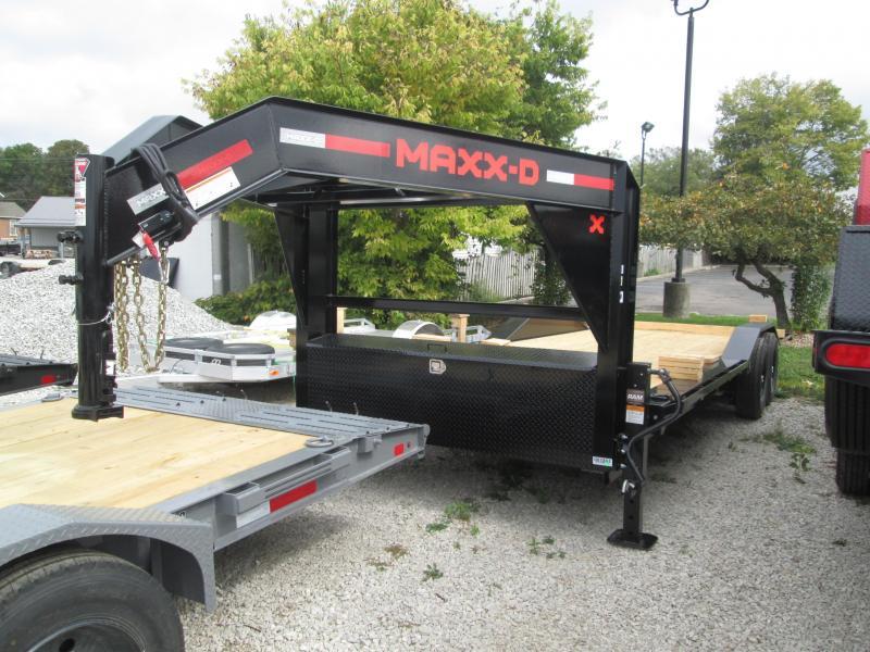 2022 24x102 14K MAXXD Gooseneck T8X Equipment Trailer. 87862