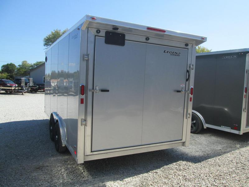 2021 8x16+V-Nose Legend FTV Enclosed Cargo Trailer. 17889