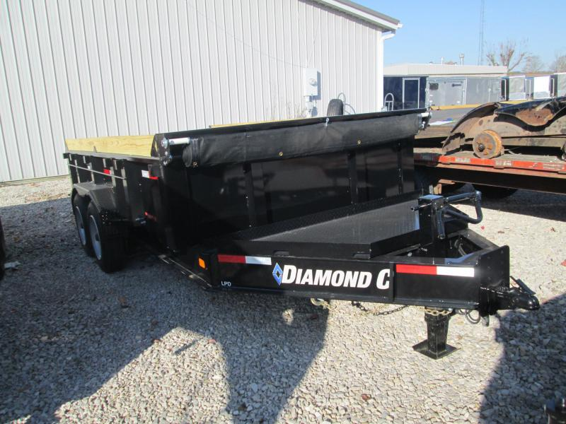 2021 14x81 18K Diamond C LPD208 Dump Trailer. 36528