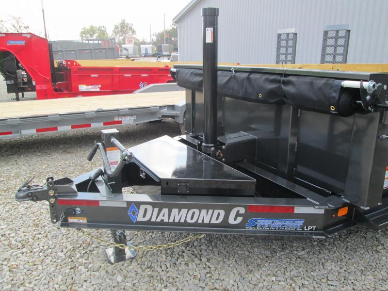 2021 16x82 14.9K Diamond C LPT207 Telescopic Dump Trailer. 35895