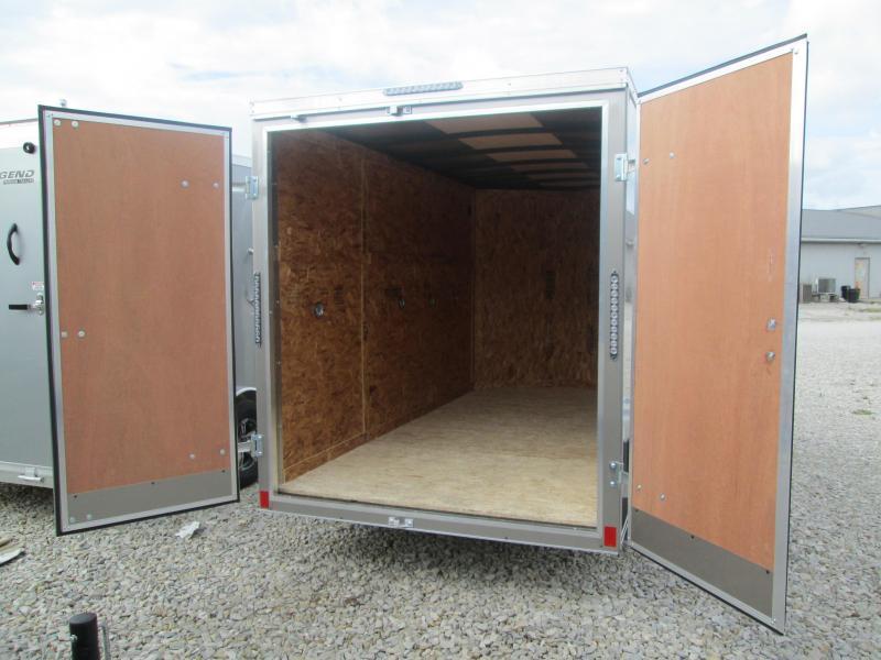 2021 6x12 Darkhorse Enclosed Cargo Trailer. 1787