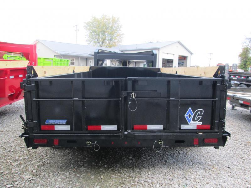 2021 14x82 14K Diamond C LPD207 Dump Trailer. 35576