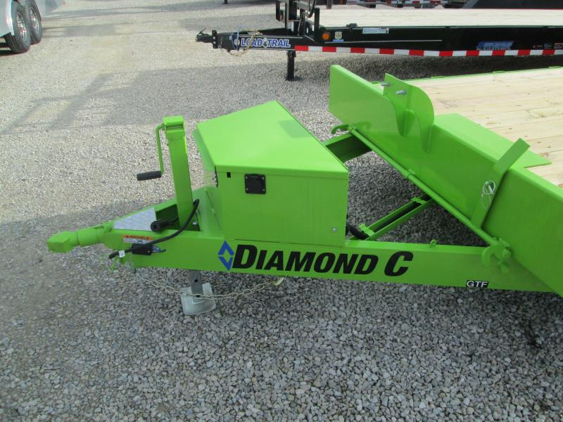 2021 Diamond C Trailers GTF252 Equipment Trailer