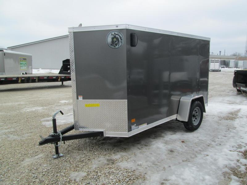 2021 5x10 Darkhorse Enclosed Cargo Trailer. 103654