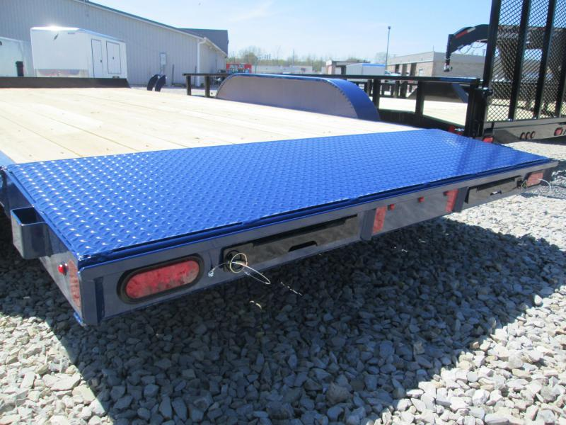 2021 16x83 7K Diamond C GTF235 Equipment Trailer. 45872