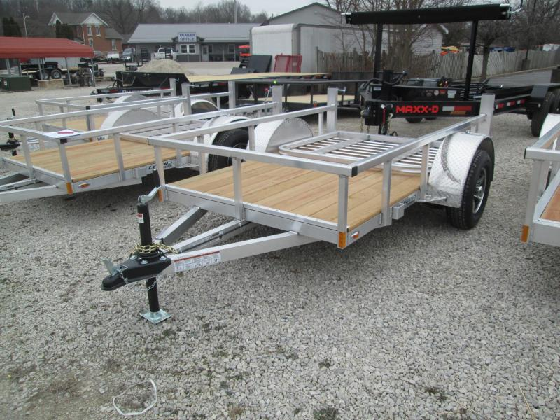 2021 5x8 Legend Open Aluminum Utility Trailer. 17636