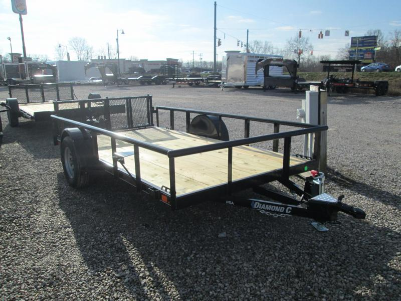 2021 12x77 Diamond C PSA135 Utility Trailer. 38498