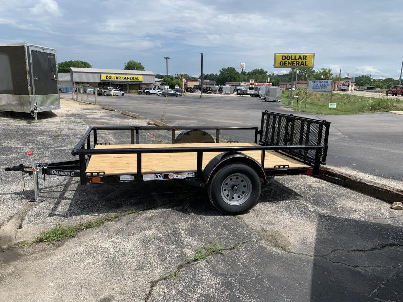 2020 Diamond C 77x10 Utility Trailer. 31837