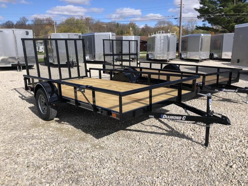2021 12x77 Diamond C GSA135 Utility Trailer. 36932