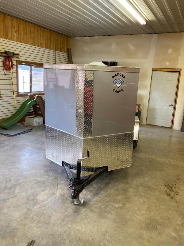 2022 Diamond 5X10SA Enclosed Cargo Trailer