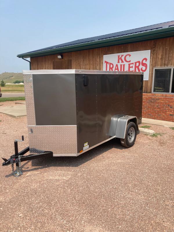 2021 Diamond 5x10sa Enclosed Cargo Trailer