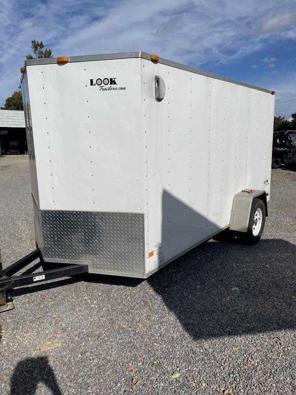 2010 Look Trailers EWLC6X12SI2 Flat Top Enclosed Cargo Trailer