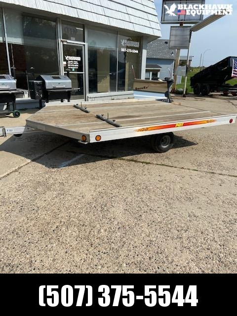 2002 PCT 8.5x10 V-Nose Snowmobile Trailer