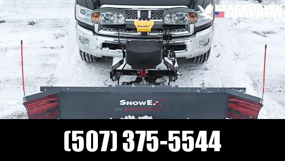 "2021 SnowEx 8'6"" SPEEDWING Snow Plow"