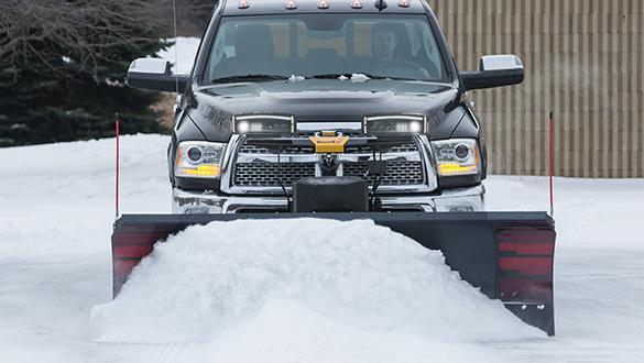 "2021 SnowEx 8'6"" SPEEDWING Snow Plow"