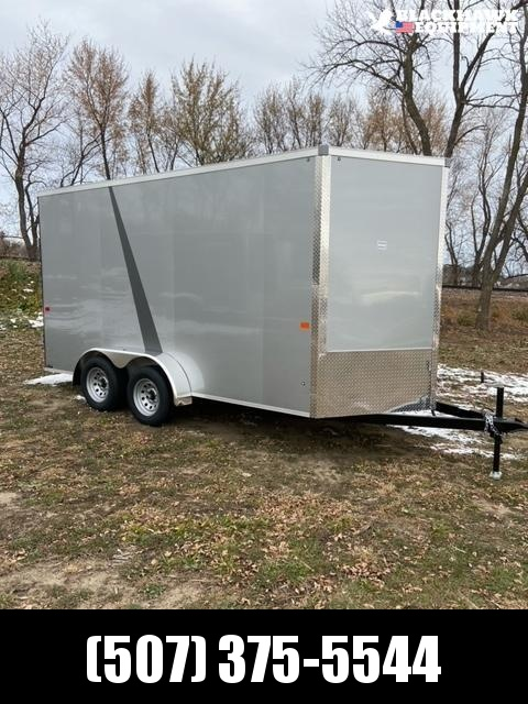 2020 AERO 7X14TA35 UTV Enclosed Cargo Trailer