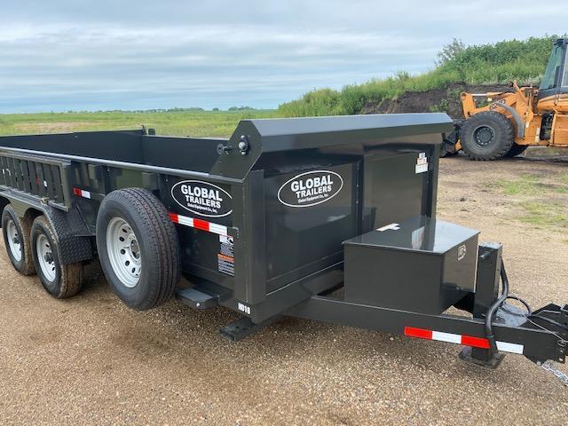 2021 Global Equipment Co. 7x16 Dump Trailer