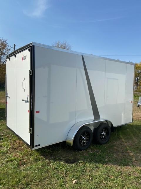 2021 AERO 7x14 UTV Enclosed Cargo Trailer