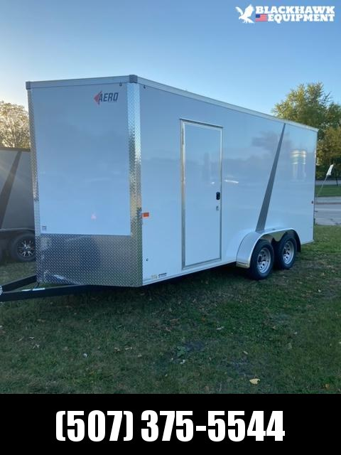 2021 AERO 7x16TA35 UTV Enclosed Cargo Trailer