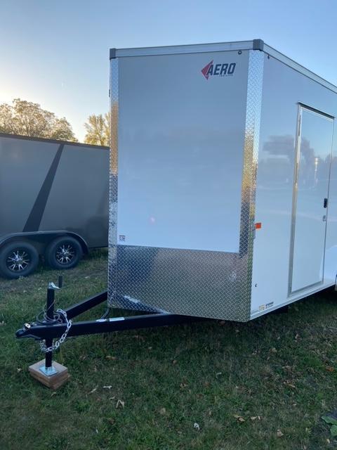 2021 AERO 7x16TA35 UTV Enclosed Cargo Trailer