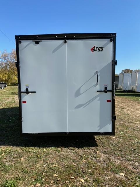 2021 AERO 7.5x16UTV Enclosed Cargo Trailer