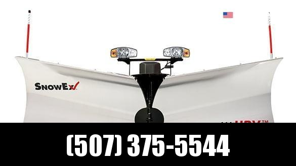 "2021 Snow Ex 8'6"" Stainless Steel HDV V-Plow Snow Plow"