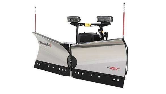 "2021 Snow Ex 7'6"" Stainless Steel RDV 1/2 Ton V-Plow Snow Plow"