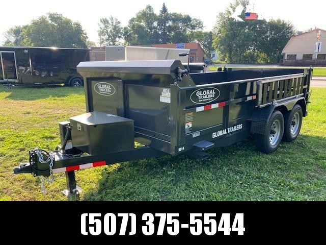 2021 Global Equipment Co. 7x14 Dump Trailer Dump Trailer