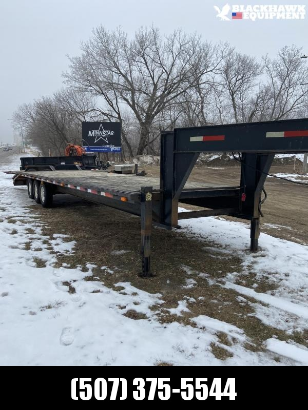 1996 Other JAMI 30 + 5 Gooseneck Equipment Trailer