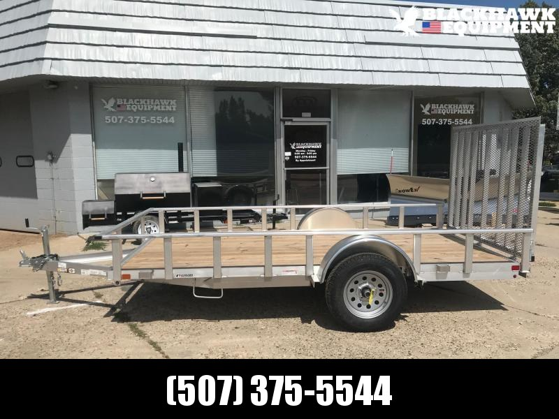 2020 Carry-On 7x12 Aluminum Frame Wood Deck Utility Trailer