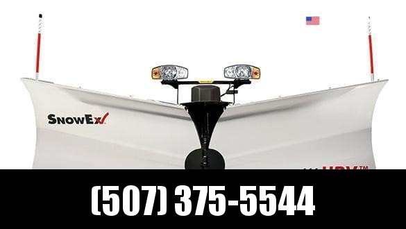 "2021 Snow Ex 9'6"" Stainless Steel HDV V-Plow Snow Plow"