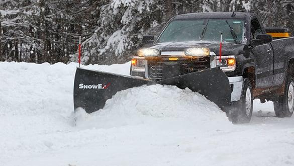 "2021 Snow Ex 8'6"" Steel HDV V-Plow Snow Plow"