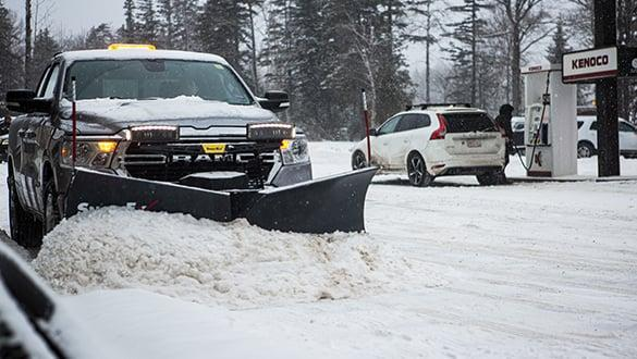 "2021 Snow Ex 7'6"" Steel RDV 1/2 Ton V-Plow Snow Plow"