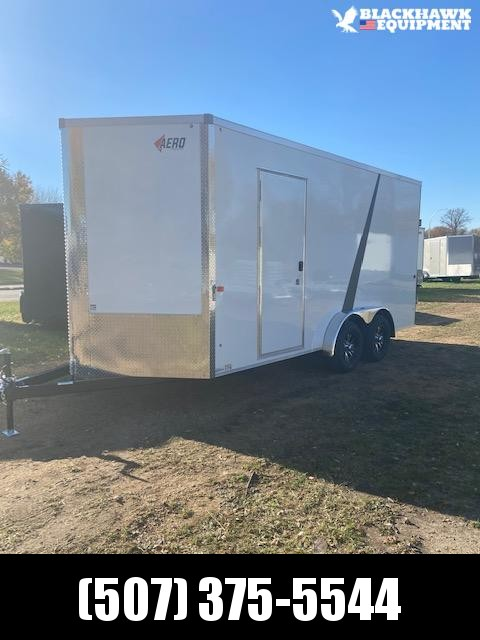 2021 AERO 7.5x16UTV Enclosed Cargo Trailer