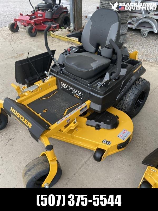 "2021 Hustler Raptor XDX 60"" Lawn Equipment"