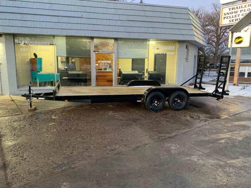 2021 Carry-On 7X20HDEQDTFR Equipment Trailer