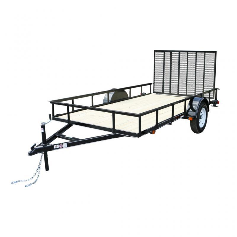 2021 Carry-On 6X12GW 3K Utility Trailer with Ramp