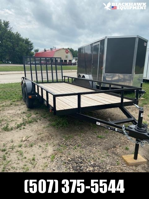 2020 Carry-On 7X16GW2BRK Utility Trailer