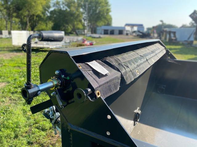 2021 Global Equipment Co. 7x14 Dump Trailer Dump Trailer