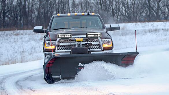 2021 Snow Ex 8'-10' Power Plow Snow Plow