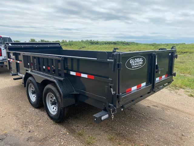2021 Global Equipment Co. 7x16 Dump Trailer