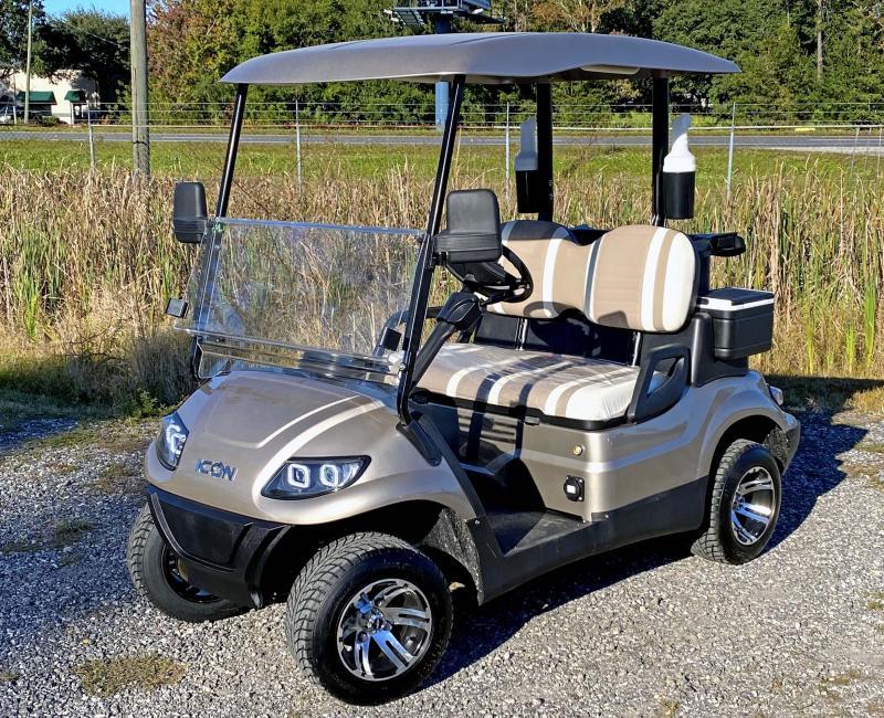 New IconEV i20 - 2 Passenger Golf Cart