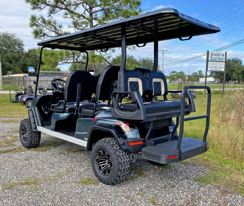 2021 StarEV Sirius 6 Passenger Luxury LIFTED Cart